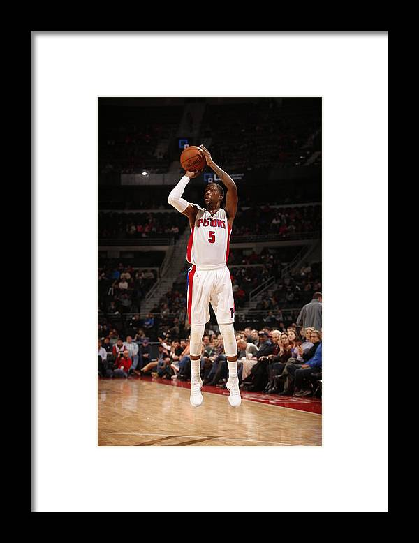 Nba Pro Basketball Framed Print featuring the photograph Kentavious Caldwell-pope by Brian Sevald