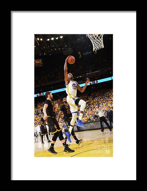 Playoffs Framed Print featuring the photograph Kevin Durant by Andrew D. Bernstein