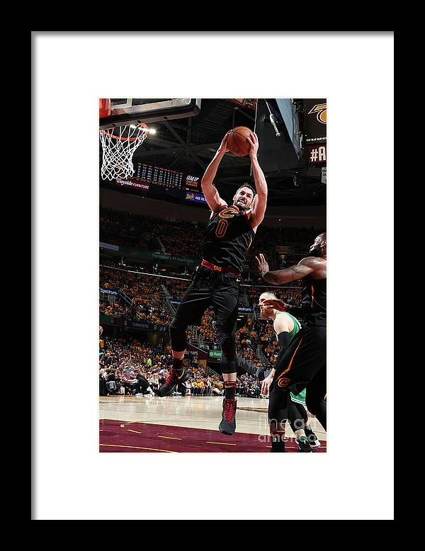 Playoffs Framed Print featuring the photograph Kevin Love by Nathaniel S. Butler