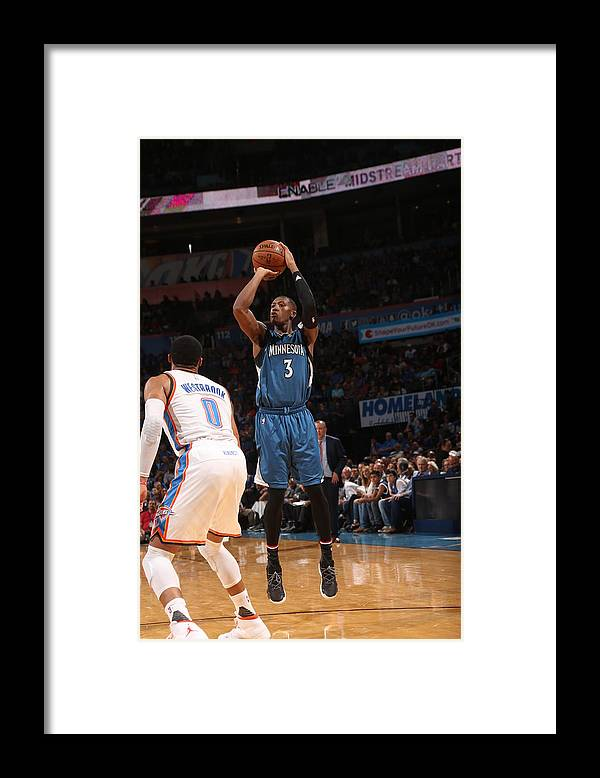 Nba Pro Basketball Framed Print featuring the photograph Kris Dunn by Layne Murdoch
