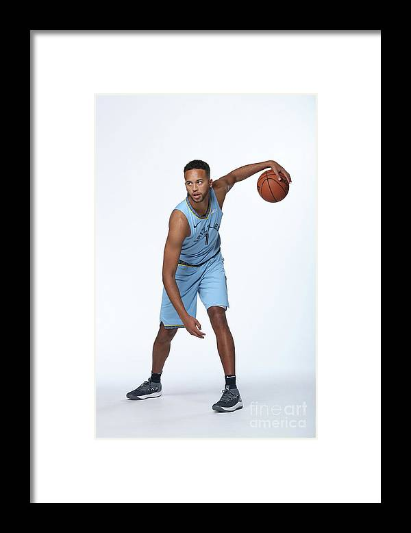 Media Day Framed Print featuring the photograph Kyle Anderson by Joe Murphy