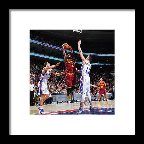 Nba Pro Basketball Framed Print featuring the photograph Kyrie Irving by Jesse D. Garrabrant