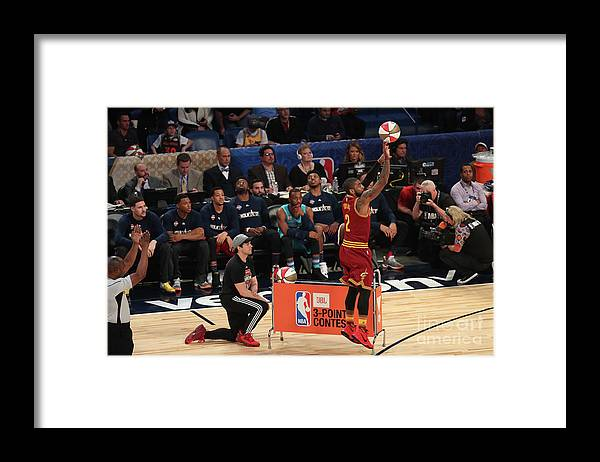 Event Framed Print featuring the photograph Kyrie Irving by Joe Murphy