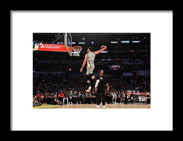 Event Framed Print featuring the photograph Larry Nance by Jesse D. Garrabrant
