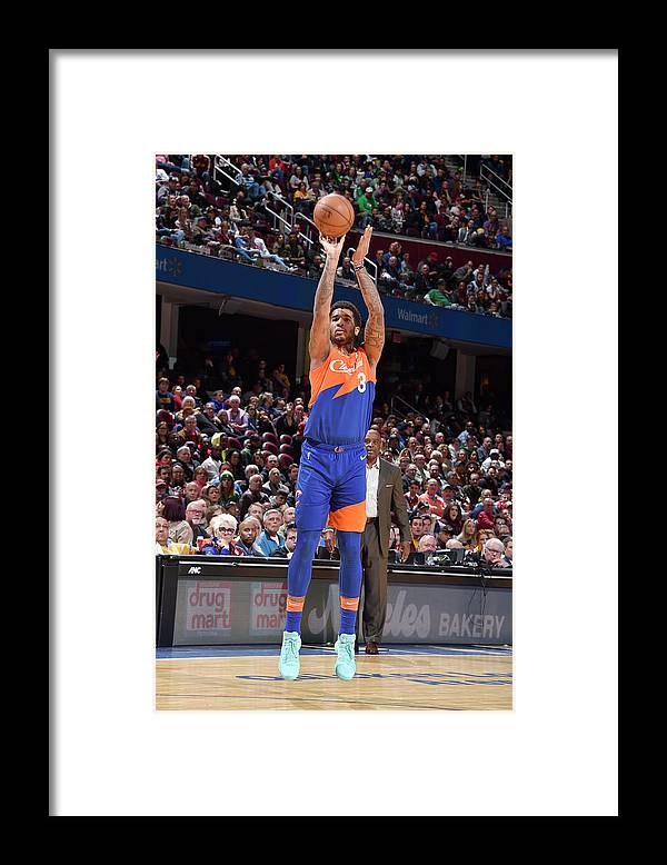 Nba Pro Basketball Framed Print featuring the photograph Marquese Chriss by David Liam Kyle