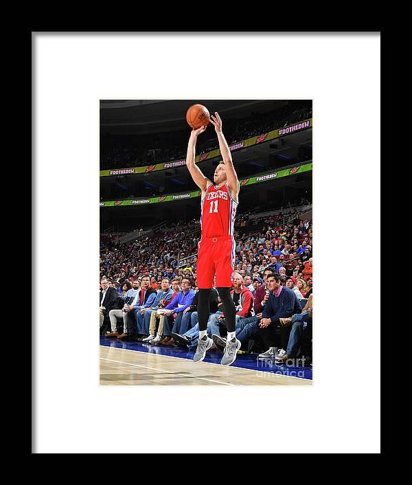 Nba Pro Basketball Framed Print featuring the photograph Nik Stauskas by Jesse D. Garrabrant