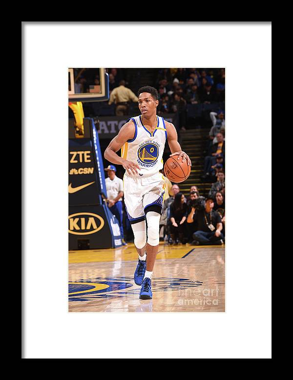 Nba Pro Basketball Framed Print featuring the photograph Patrick Mccaw by Noah Graham