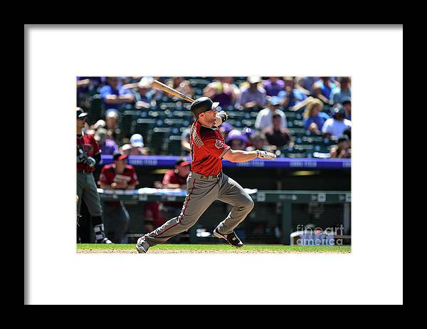 People Framed Print featuring the photograph Paul Goldschmidt by Dustin Bradford