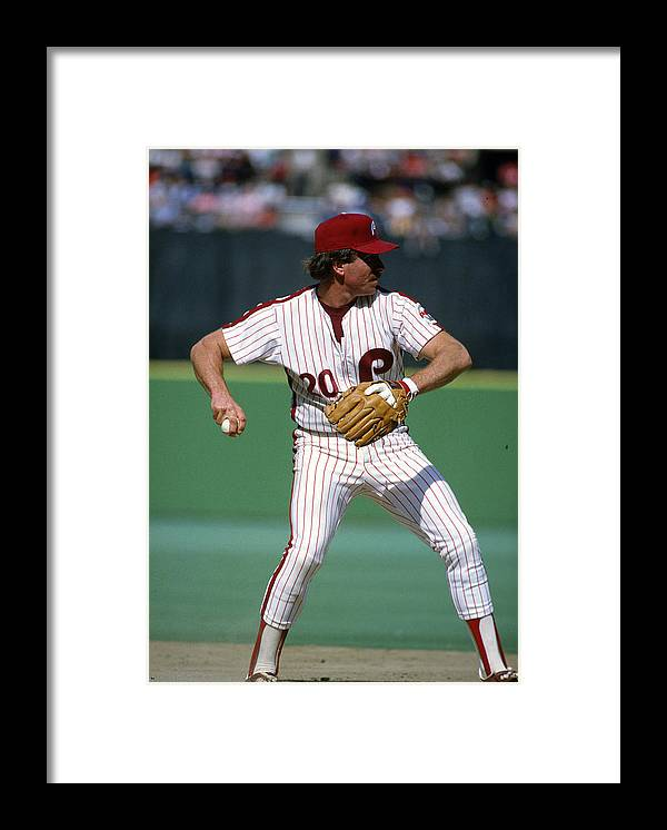 Sports Ball Framed Print featuring the photograph Philadelphia Phillies by Focus On Sport