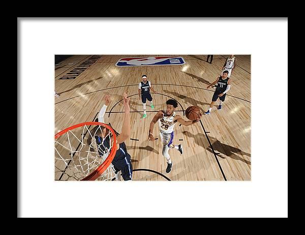 Nba Pro Basketball Framed Print featuring the photograph Quinn Cook by Jesse D. Garrabrant