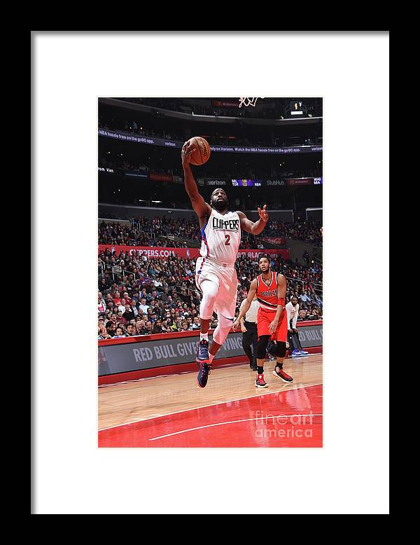Nba Pro Basketball Framed Print featuring the photograph Raymond Felton by Andrew D. Bernstein