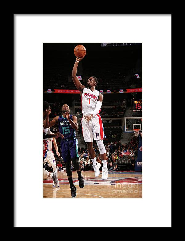Nba Pro Basketball Framed Print featuring the photograph Reggie Jackson by Brian Sevald