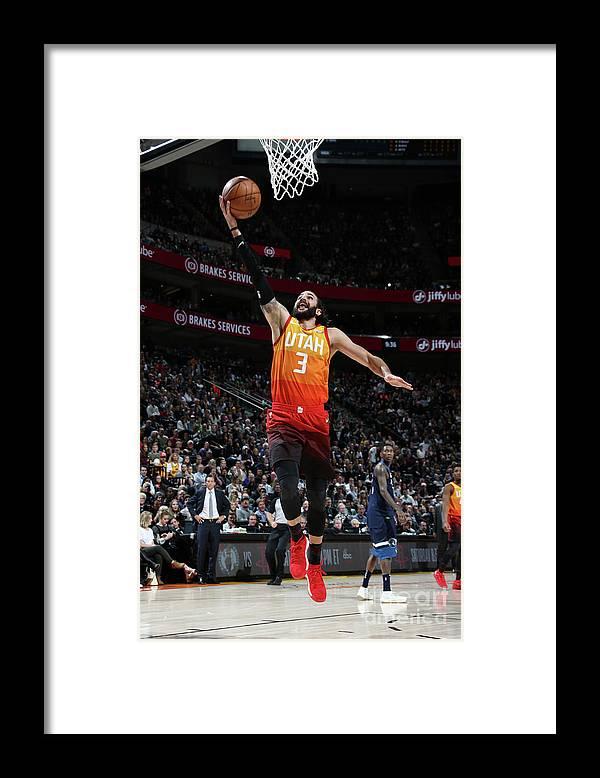 Nba Pro Basketball Framed Print featuring the photograph Ricky Rubio by Melissa Majchrzak