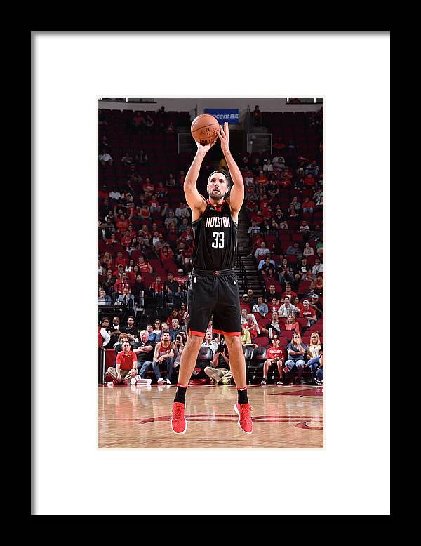 Nba Pro Basketball Framed Print featuring the photograph Ryan Anderson by Bill Baptist