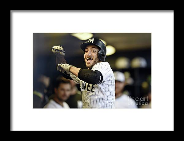People Framed Print featuring the photograph Ryan Braun by Stacy Revere