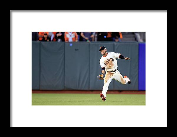 San Francisco Framed Print featuring the photograph Salvador Perez by Jamie Squire