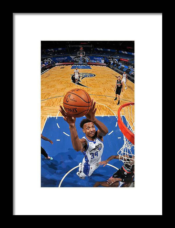 Nba Pro Basketball Framed Print featuring the photograph San Antonio Spurs v Orlando Magic by Fernando Medina