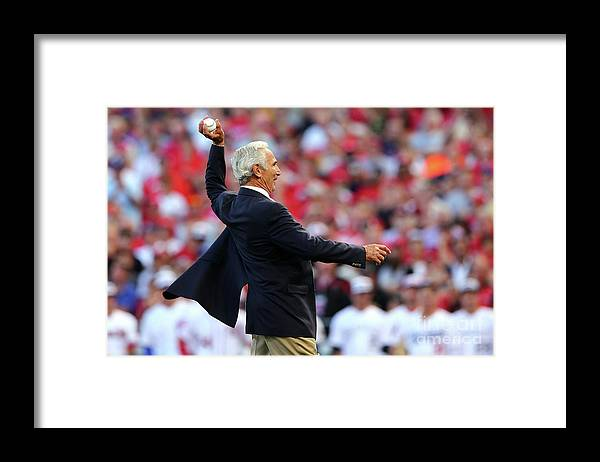 Great American Ball Park Framed Print featuring the photograph Sandy Koufax by Elsa
