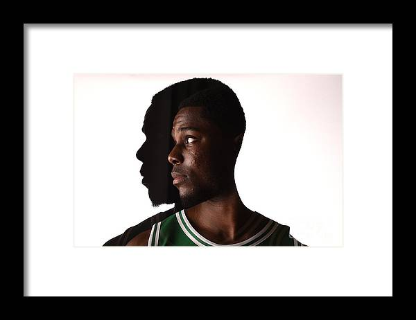 Nba Pro Basketball Framed Print featuring the photograph Semi Ojeleye by Brian Babineau