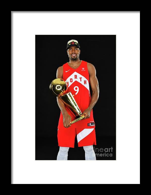 Playoffs Framed Print featuring the photograph Serge Ibaka by Jesse D. Garrabrant
