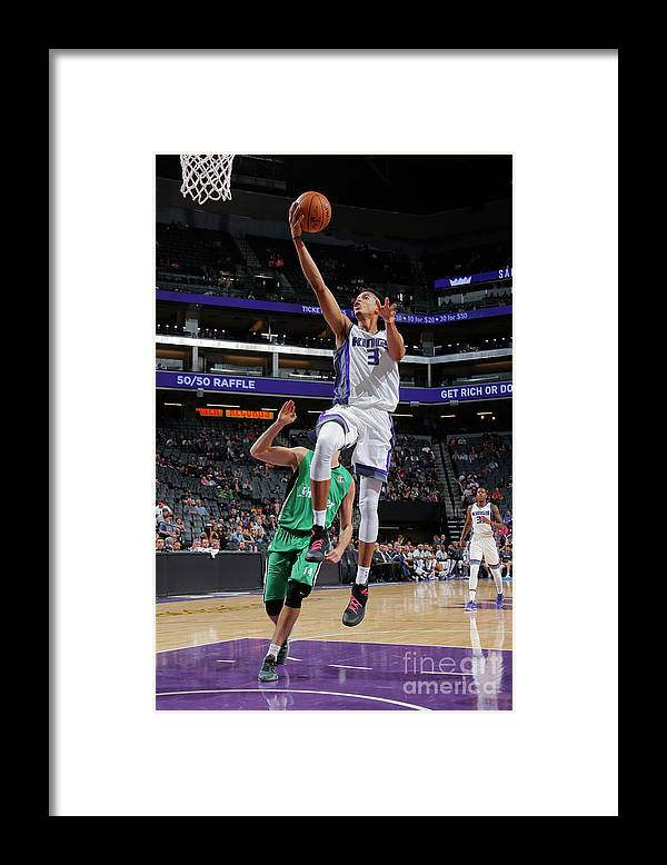Maccabi Haifa Framed Print featuring the photograph Skal Labissiere by Rocky Widner