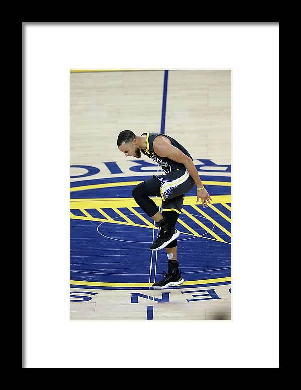 Playoffs Framed Print featuring the photograph Stephen Curry by Joe Murphy