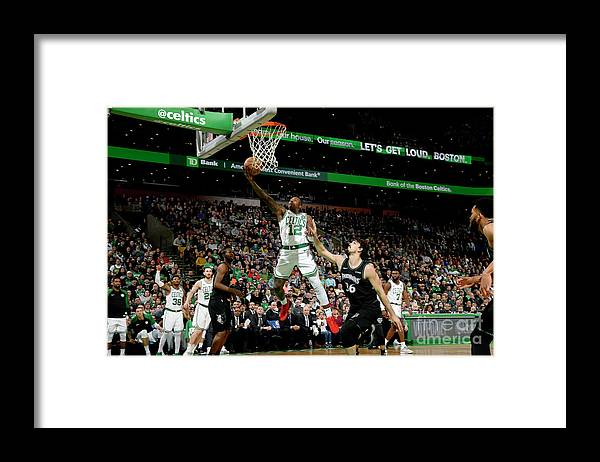 Nba Pro Basketball Framed Print featuring the photograph Terry Rozier by Brian Babineau