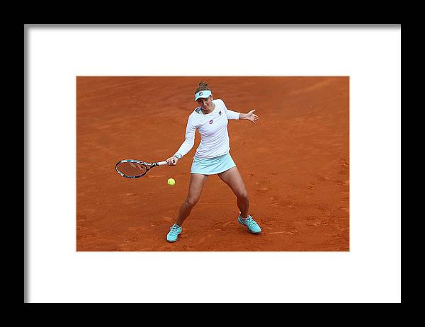 Tennis Framed Print featuring the photograph The Internazionali BNL d'Italia 2016 - Day Seven by Matthew Lewis