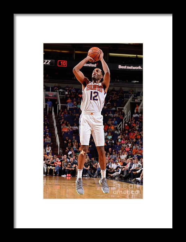 Nba Pro Basketball Framed Print featuring the photograph T.j. Warren by Barry Gossage