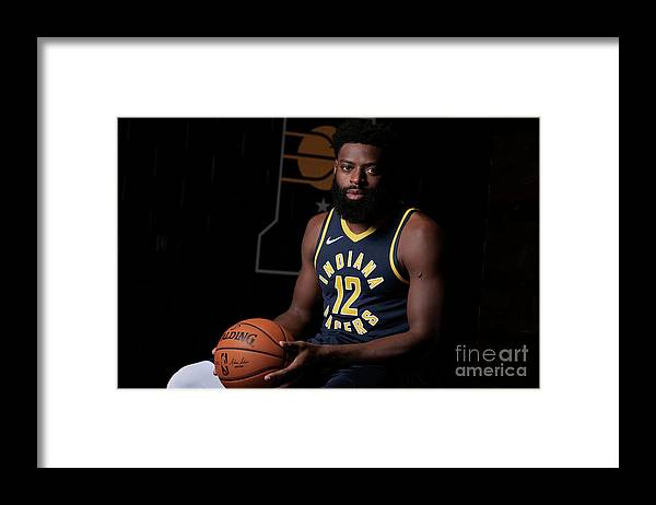 Media Day Framed Print featuring the photograph Tyreke Evans by Ron Hoskins