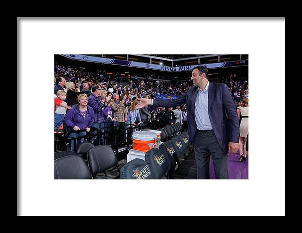 Nba Pro Basketball Framed Print featuring the photograph Vlade Divac by Rocky Widner