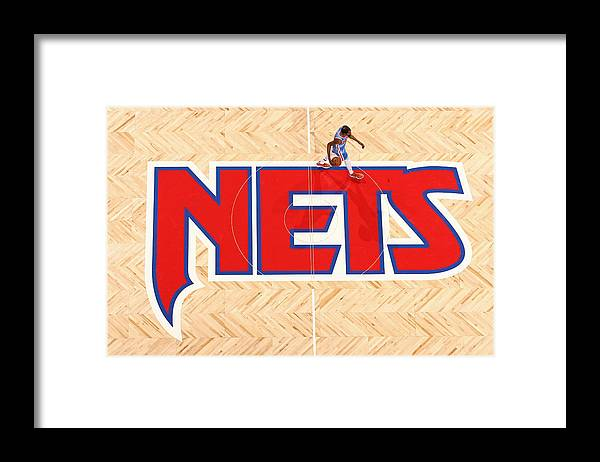 Nba Pro Basketball Framed Print featuring the photograph Kevin Durant by Nathaniel S. Butler