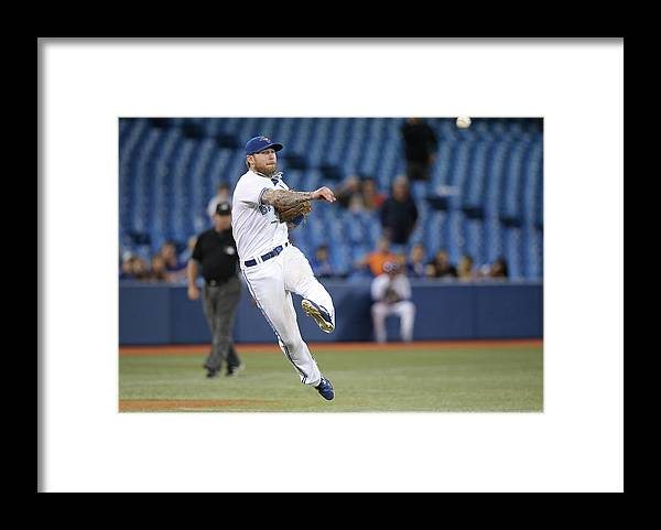 Ninth Inning Framed Print featuring the photograph Jay Rogers by Tom Szczerbowski