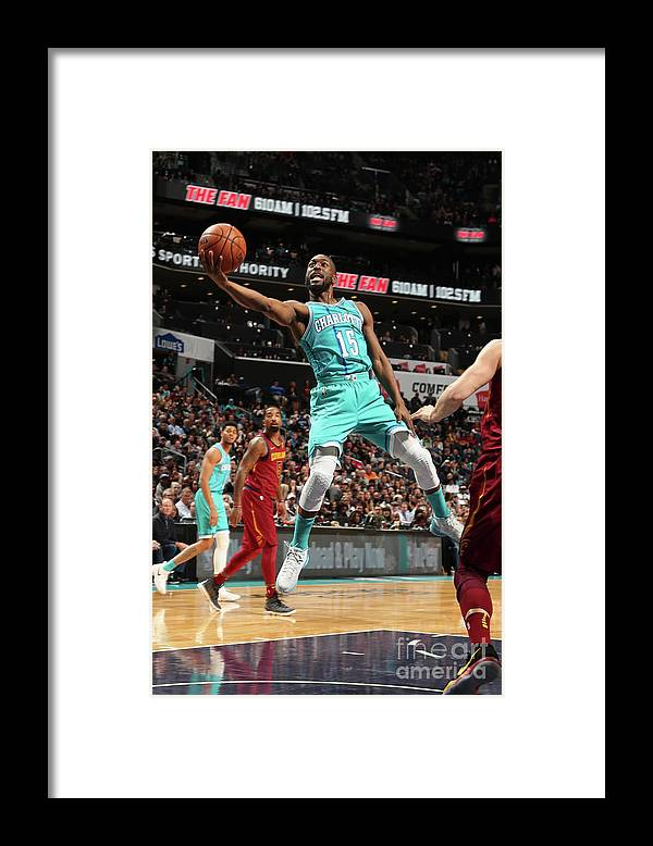 Kemba Walker Framed Print featuring the photograph Kemba Walker by Kent Smith