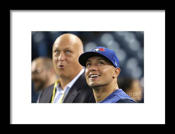 People Framed Print featuring the photograph Jay Rogers by Tom Szczerbowski