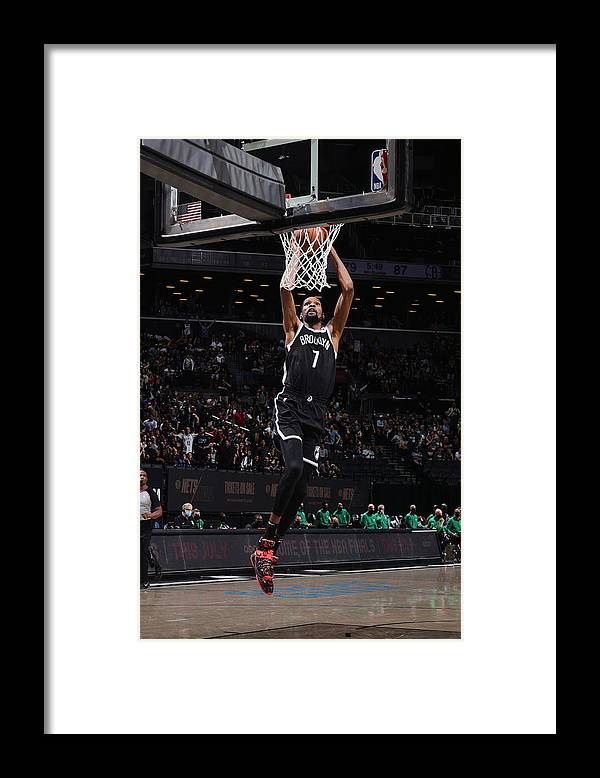 Playoffs Framed Print featuring the photograph Kevin Durant by Nathaniel S. Butler