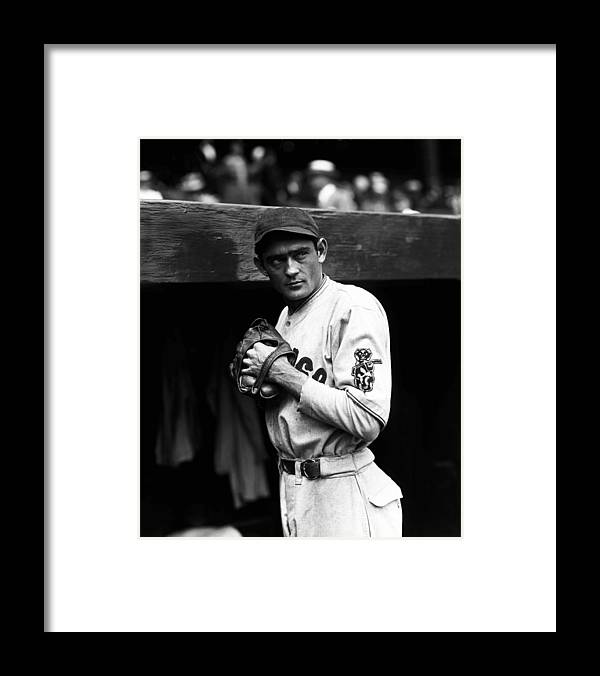 National League Baseball Framed Print featuring the photograph Chicago Cubs by The Conlon Collection
