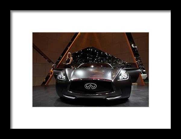 Geneva International Motor Show Framed Print featuring the photograph 79th Geneva Motor Show by Miguel Villagran
