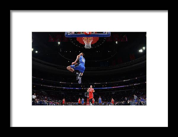 Nba Pro Basketball Framed Print featuring the photograph Aaron Gordon by Jesse D. Garrabrant