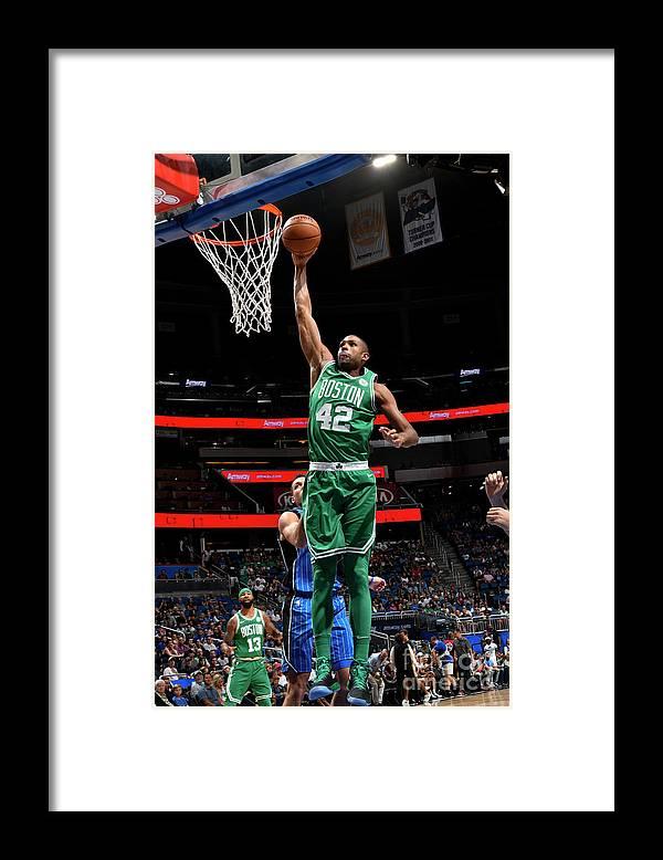 Nba Pro Basketball Framed Print featuring the photograph Al Horford by Fernando Medina