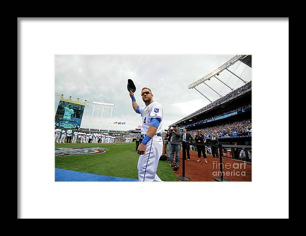 Crowd Framed Print featuring the photograph Alex Gordon by Ed Zurga