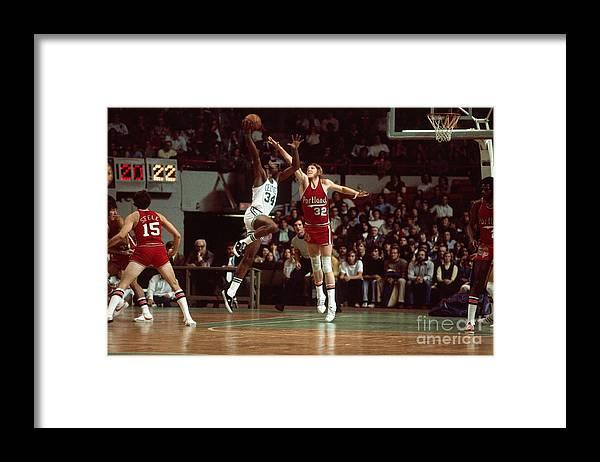 Nba Pro Basketball Framed Print featuring the photograph Bill Walton by Dick Raphael