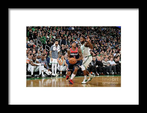 Nba Pro Basketball Framed Print featuring the photograph Bradley Beal by Brian Babineau