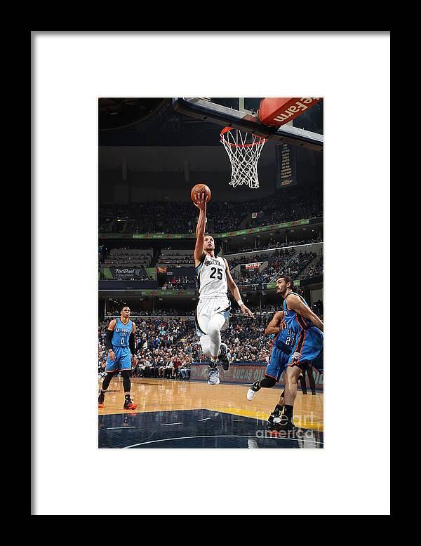 Nba Pro Basketball Framed Print featuring the photograph Chandler Parsons by Joe Murphy