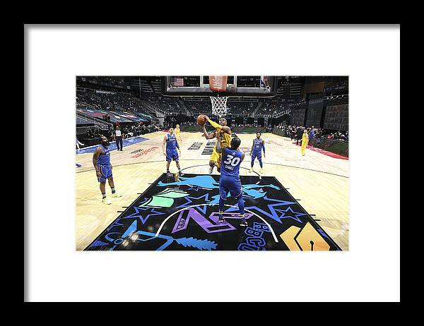 Atlanta Framed Print featuring the photograph Chris Paul by Nathaniel S. Butler