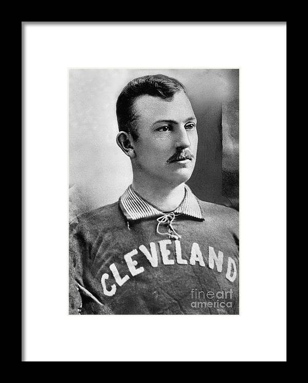 American League Baseball Framed Print featuring the photograph Cy Young by National Baseball Hall Of Fame Library