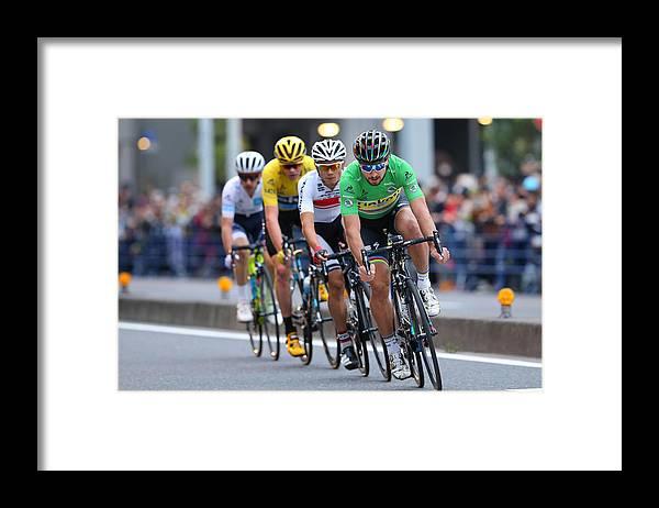 Saitama City Framed Print featuring the photograph Cycling: 4th Tour de France Saitama Criterium 2016 by Kei Tsuji