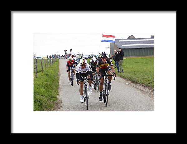 Netherlands Framed Print featuring the photograph Cycling: 52nd Amstel Gold Race 2017 / Men by Tim de Waele
