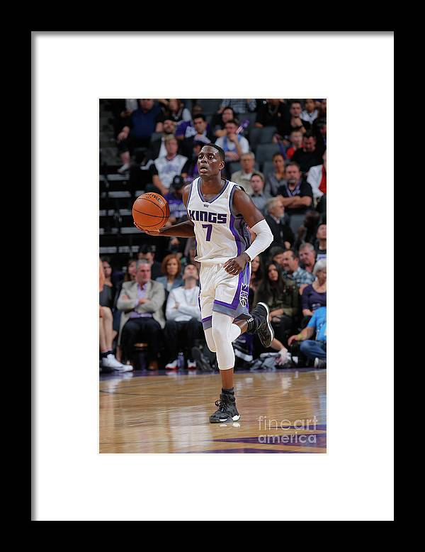 Nba Pro Basketball Framed Print featuring the photograph Darren Collison by Rocky Widner