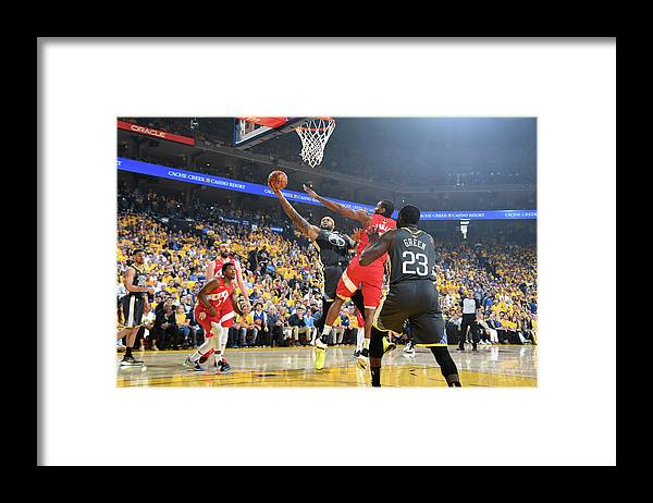 Playoffs Framed Print featuring the photograph Demarcus Cousins by Andrew D. Bernstein